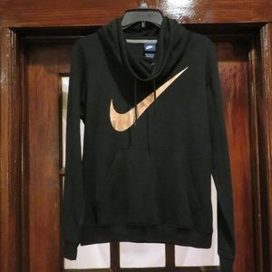Nike Women's Funnel-Neck Pullover Hoodie